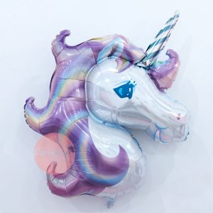 Unicorn Purple Balloon
